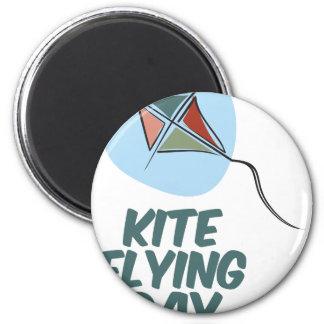 Kite Flying Day - 8th February Magnet