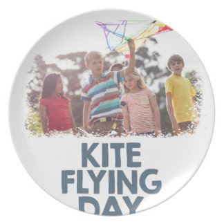 Kite Flying Day  - Appreciation Day Plate
