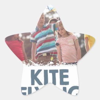 Kite Flying Day  - Appreciation Day Star Sticker