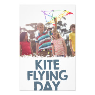 Kite Flying Day  - Appreciation Day Stationery