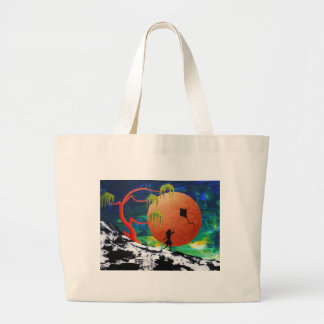 Kite. Large Tote Bag
