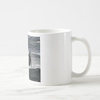 Kite surfer classic white coffee mug