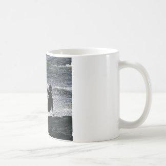 Kite surfer basic white mug