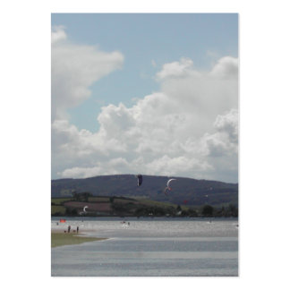 Kite Surfers. Nice scenic view. Pack Of Chubby Business Cards