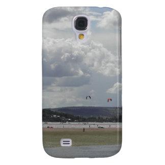 Kite Surfers. Scenic view. Samsung Galaxy S4 Cover