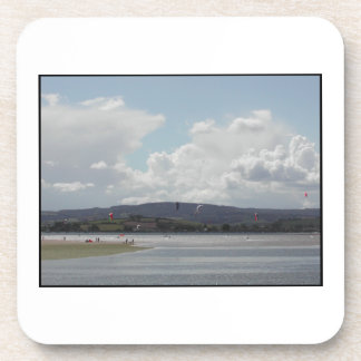 Kite Surfers Scenic view Coasters