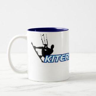 Kiters4Christ Two-Tone Coffee Mug