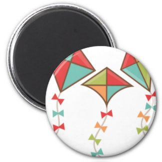 Kites  colorful magnet