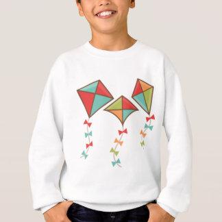Kites  colorful sweatshirt