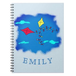 Kites in the Blue Sky Name Notebooks
