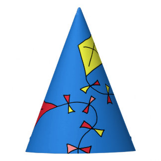 Kites in the Blue Sky Party Hat