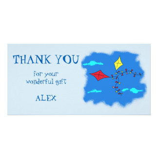 Kites Personalized Thank you Card