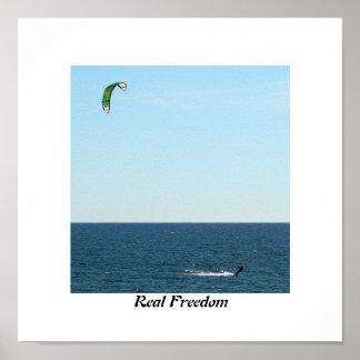 Kitesailing, Real Freedom Poster
