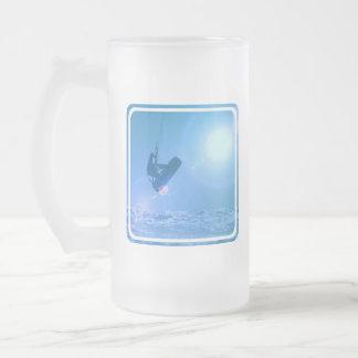 Kitesurfing Air Frosted Mug