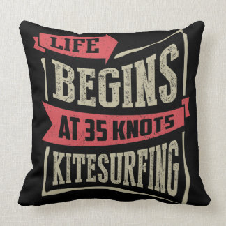 Kitesurfing Gift Ideas Throw Pillow