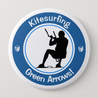 Kitesurfing Master 4 Inch Round Button