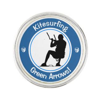 Kitesurfing Master Lapel Pin