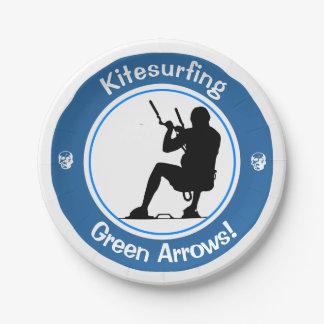 Kitesurfing Master Paper Plate