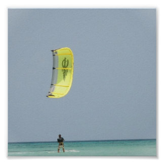 Kitesurfing Print