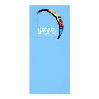 Kitesurfing Rack Card