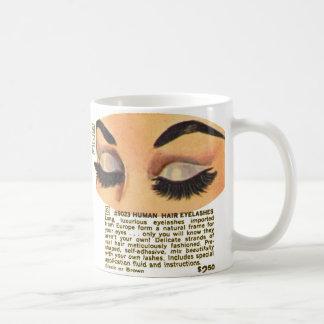 Kitsch Vintage 100 Human Eyelasses Ad Coffee Mug