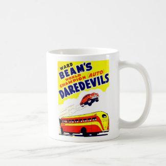 Kitsch Vintage Auto Daredevils Mugs