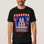Kitsch Vintage Carnival Game Hit The Milk Bottle T Shirts