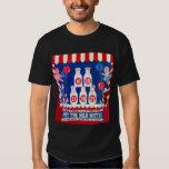 Kitsch Vintage Carnival Game Hit The Milk Bottle T Shirts