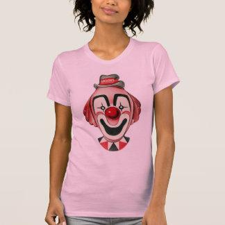 Kitsch Vintage Clown Face, Mask T-shirts