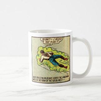 Kitsch Vintage Comic Aman Coffee Mugs