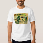 Kitsch Vintage Comic Toy Ad '126 WWII Soldiers!' Tshirt