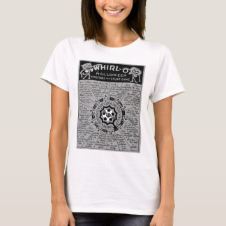 Kitsch Vintage Halloween 'Whirl-O Game' T-Shirt