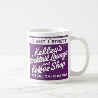 Kitsch Vintage Kelly's Kocktail Lounge & Koffee Mugs