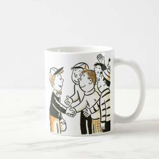 Kitsch Vintage Kids Good Buddies Mugs