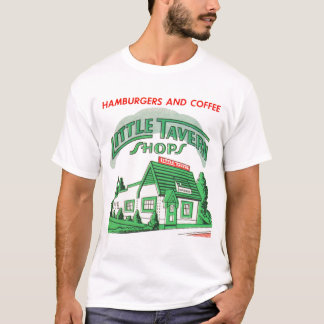 Kitsch Vintage Little Tavern Shops Hamburgers T-Shirt