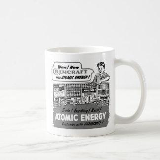 Kitsch Vintage With Atomic Energy Chemistry Set Coffee Mug