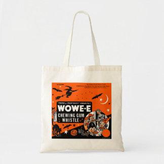 Kitsch Vintage Wowee Wax Gum Halloween Budget Tote Bag