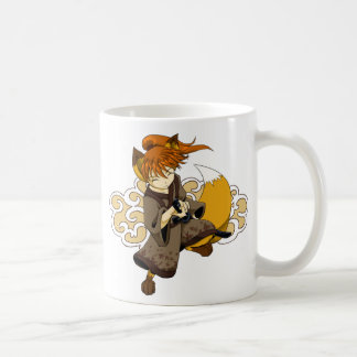 Kitsune Samurai Mug