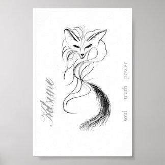 Kitsune - the spirit of the fox poster