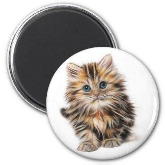 kitten-1582384_640 2 inch round magnet
