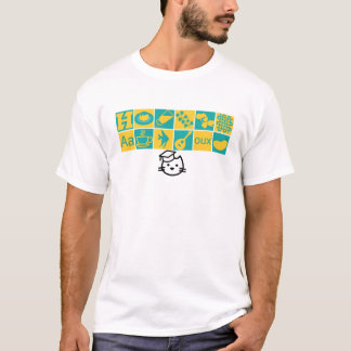 Kitten Academy Class Icons T-Shirt (Without Text)*