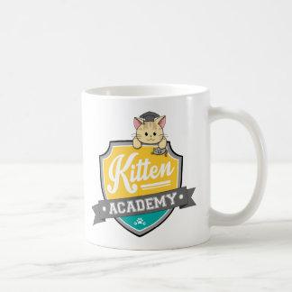 Kitten Academy Crest Mug