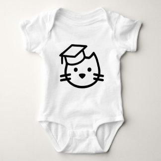 Kitten Academy Logo Baby Bodysuit