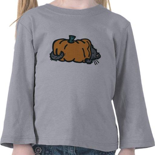 Kitten and Pumpkin Shirt