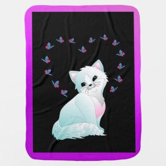 Kitten Baby Blanket