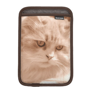 Kitten Cat Face, iPad Mini Vertical Sleeve iPad Mini Sleeves