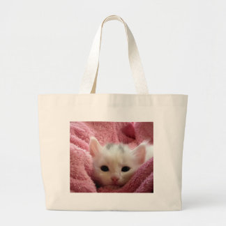 kitten-cat-fluffy-cat-cute-62321 large tote bag