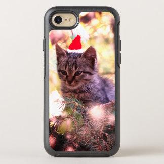 Kitten , Cat , Merry Christmas iPhone Case