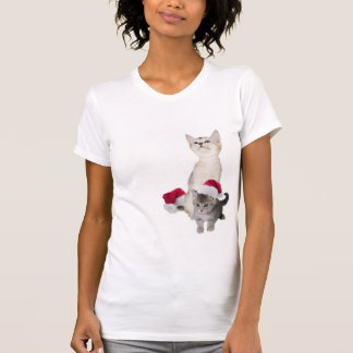 Kitten Christmas Nightshirt T-Shirt