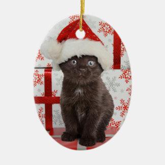 Kitten Christmas Ornament